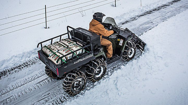2017 Polaris Sportsman Big Boss 6x6 570 EPS in Rushford, Minnesota