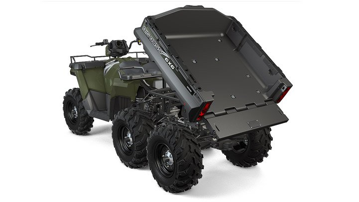 2017 Polaris Sportsman Big Boss 6x6 570 EPS in Salinas, California