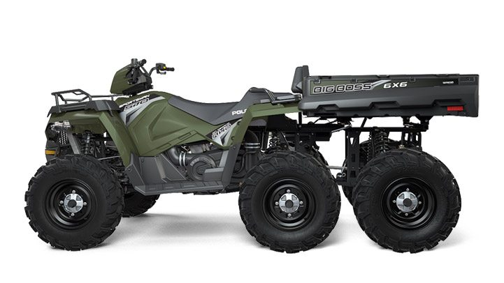 2017 Polaris Sportsman Big Boss 6x6 570 EPS in Attica, Indiana