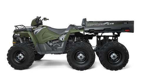 2017 Polaris Sportsman Big Boss 6x6 570 EPS in Lowell, North Carolina