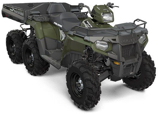 2017 Polaris Sportsman Big Boss 6x6 570 EPS in San Diego, California