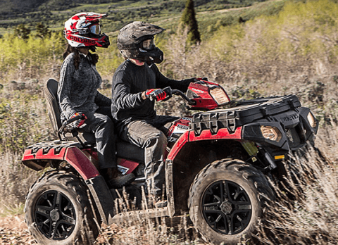 2017 Polaris Sportsman Touring 850 SP in Altoona, Wisconsin