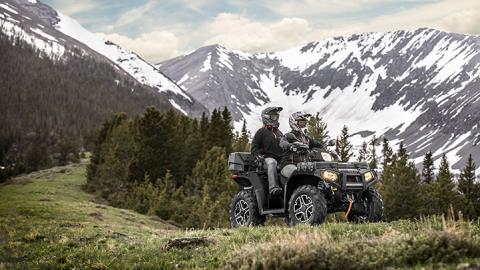 2017 Polaris Sportsman Touring XP 1000 in Powell, Wyoming
