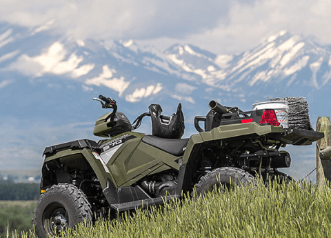 2017 Polaris Sportsman X2 570 EPS in Marietta, Ohio