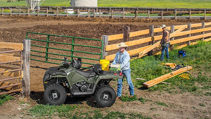 2017 Polaris Sportsman X2 570 EPS in Rushford, Minnesota