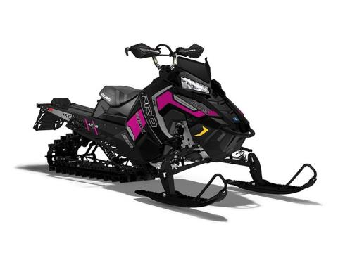 2017 Polaris 600 PRO-RMK 155 SnowCheck Select in Troy, New York