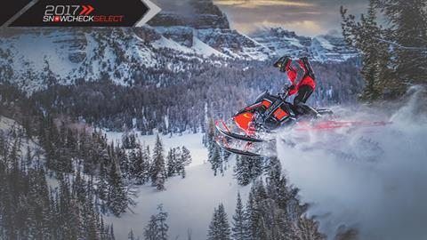 2017 Polaris 800 PRO-RMK 155 in Mount Pleasant, Michigan