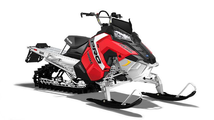 2017 Polaris 800 PRO-RMK 155 ES in Dimondale, Michigan