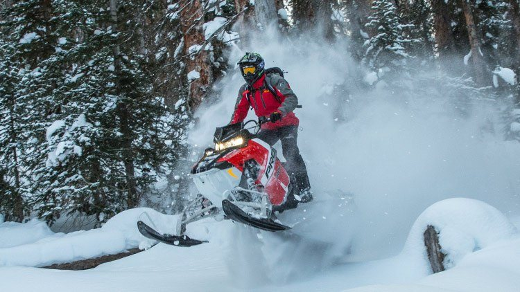 2017 Polaris 800 PRO-RMK 155 ES in Mount Pleasant, Michigan