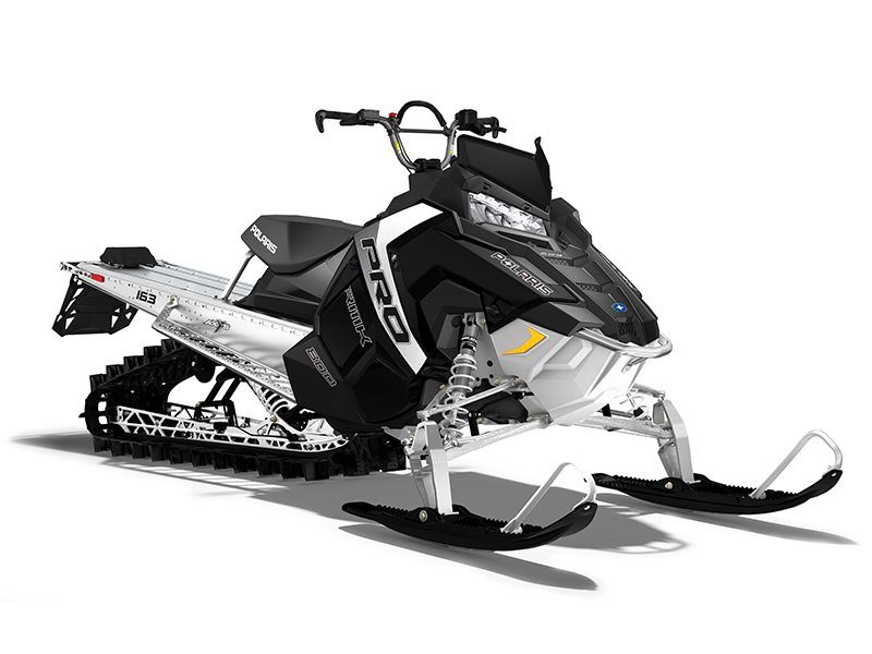 2017 Polaris 800 Pro Rmk 163 In Oak Creek Wisconsin Black Pearl
