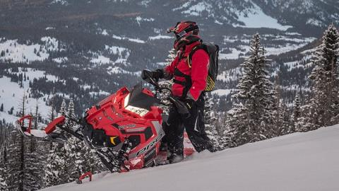 2017 Polaris 800 PRO-RMK 163 in Rushford, Minnesota