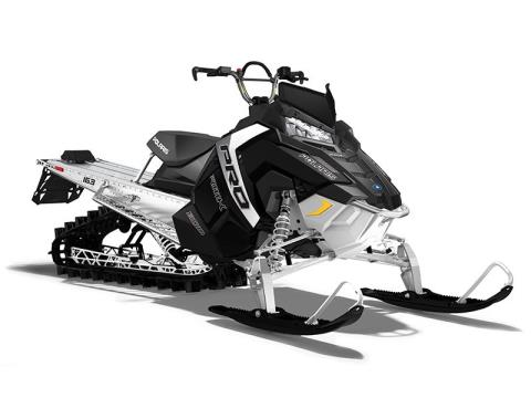 2017 Polaris 800 PRO-RMK 163 ES in Pittsfield, Massachusetts