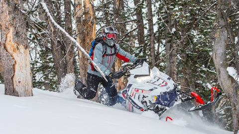 2017 Polaris 800 SKS 155 ES in Chippewa Falls, Wisconsin