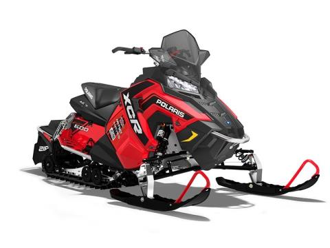 2017 Polaris 600 RUSH XCR in Janesville, Wisconsin