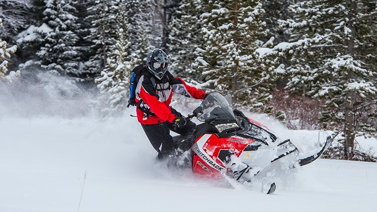 2017 Polaris 600 Switchback SP 144 ES in Pittsfield, Massachusetts