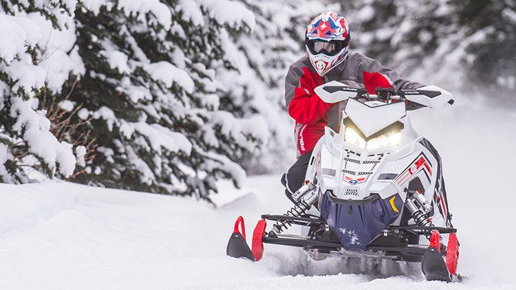2017 Polaris 800 RUSH PRO-S ES in Mount Pleasant, Michigan