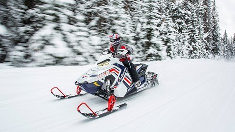2017 Polaris 800 RUSH PRO-S ES in Gunnison, Colorado