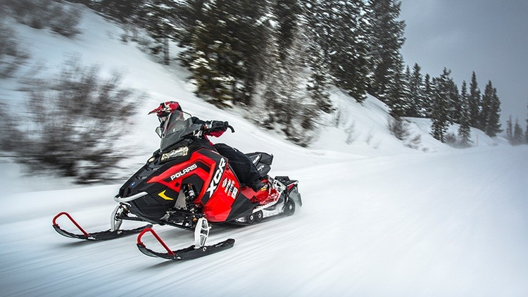 2017 Polaris 800 RUSH XCR in Dimondale, Michigan