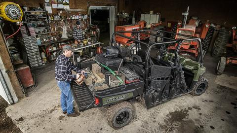 2017 Polaris Ranger Crew 570-6 in Ottumwa, Iowa