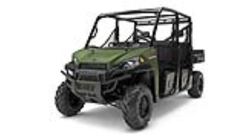 2017 Polaris Ranger Crew Diesel in Springfield, Ohio
