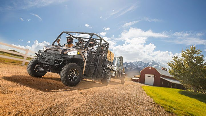 2017 Polaris Ranger Crew XP 1000 in Mount Pleasant, Michigan