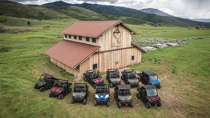2017 Polaris Ranger Crew XP 1000 EPS in Adams, Massachusetts