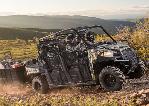 2017 Polaris Ranger Crew XP 1000 EPS in Santa Maria, California
