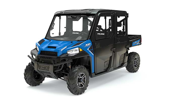 2017 Polaris Ranger Crew XP 1000 EPS Northstar HVAC Edition in Hollister, California