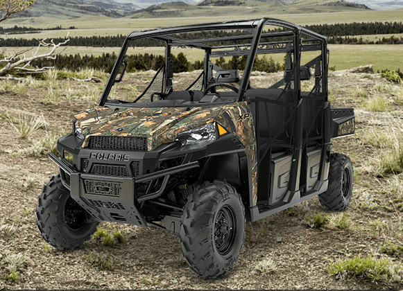 2017 Polaris Ranger Crew XP 900 EPS Camo in Chesterfield, Missouri