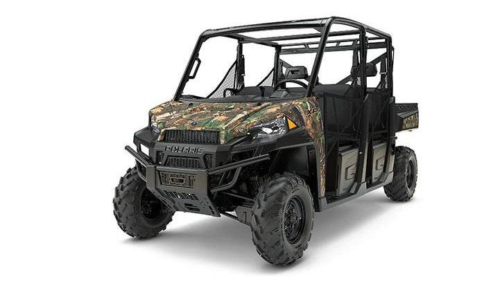 2017 Polaris Ranger Crew XP 900 EPS Camo in Rushford, Minnesota