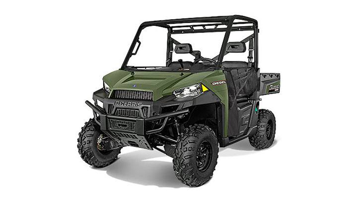 2017 Polaris Ranger Diesel in Adams, Massachusetts