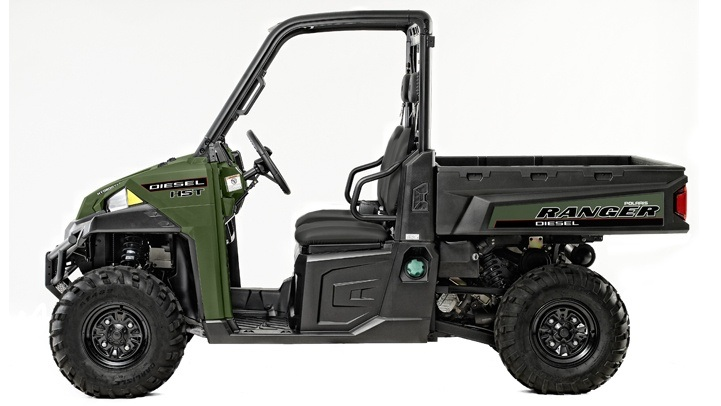 2017 Polaris Ranger Diesel HST in Chesterfield, Missouri