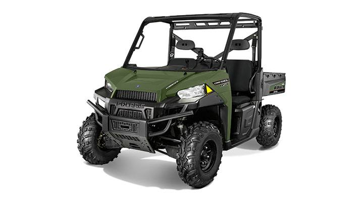 2017 Polaris Ranger Diesel HST in Columbia, South Carolina