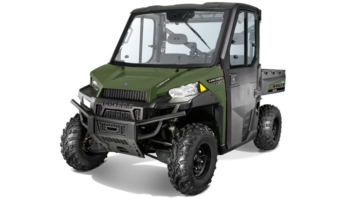 2017 Polaris Ranger Diesel HST Deluxe in Corona, California
