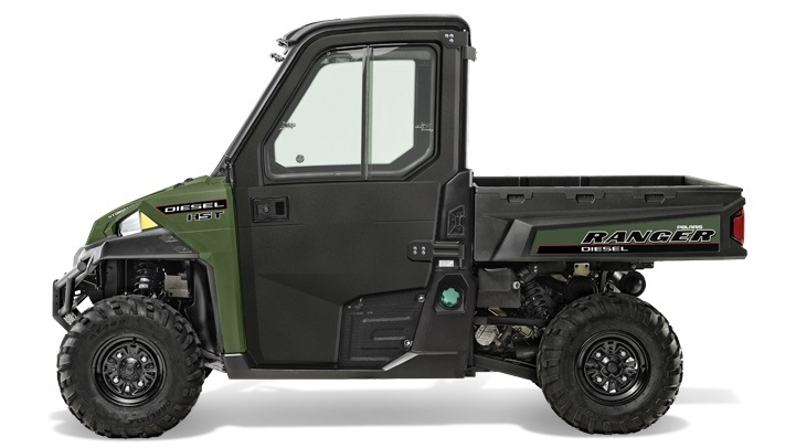 2017 Polaris Ranger Diesel HST Deluxe in Waterbury, Connecticut