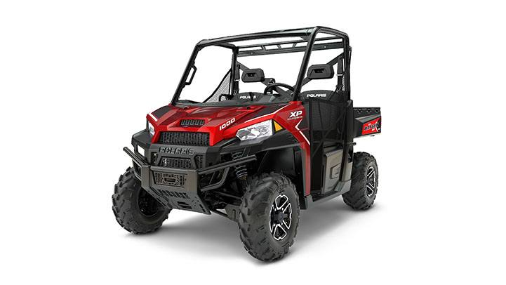 2017 Polaris Ranger XP 1000 EPS in Adams, Massachusetts
