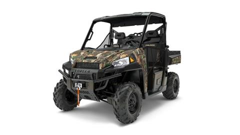 2017 Polaris Ranger XP 1000 EPS Hunter Edition in Batavia, Ohio