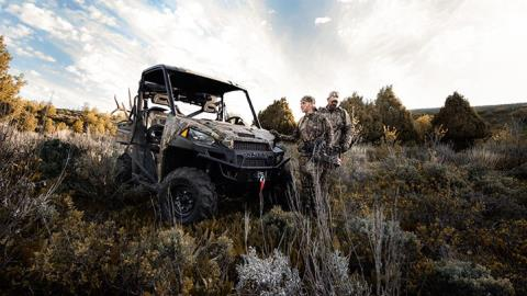 2017 Polaris Ranger XP 1000 EPS Hunter Edition in Sumter, South Carolina