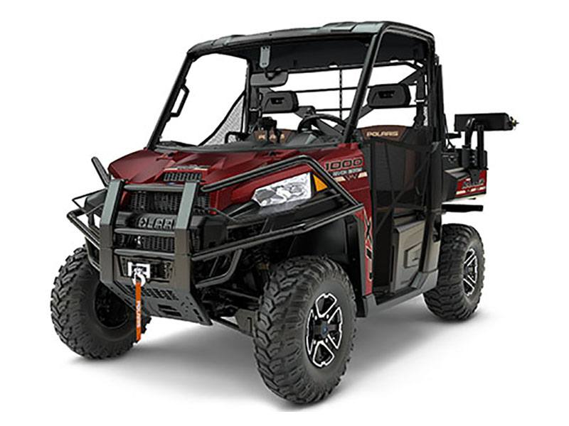 2017 Polaris Ranger XP 1000 EPS Ranch Edition in Attica, Indiana - Photo 1