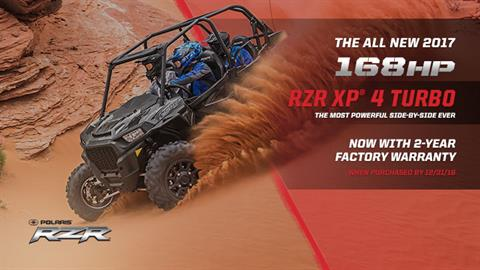 2017 Polaris RZR XP 4 Turbo EPS in Bridgeport, West Virginia