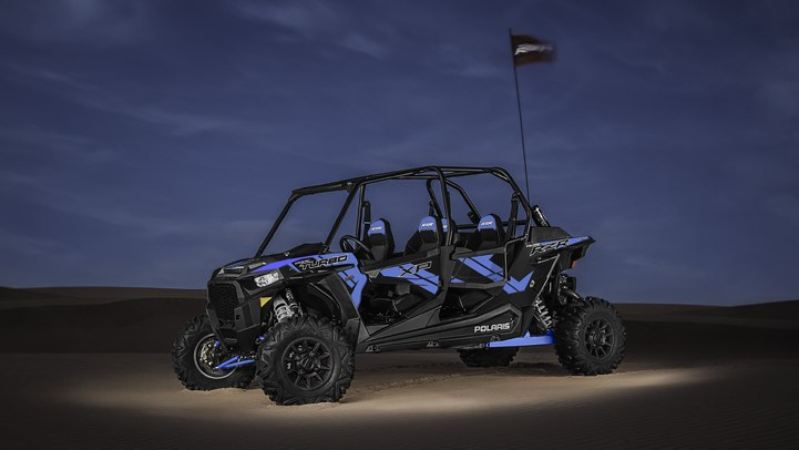 2017 Polaris RZR XP 4 Turbo EPS in Springfield, Ohio