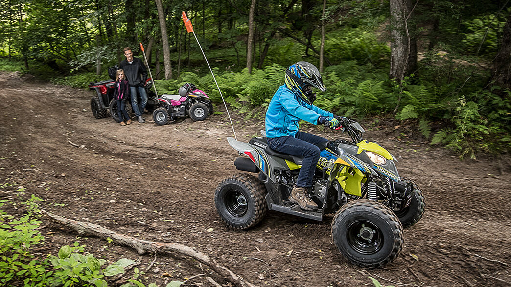 2018 Polaris Outlaw 110 in Dimondale, Michigan