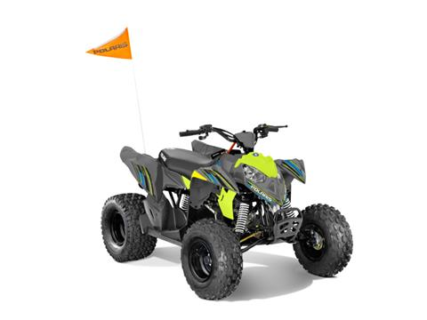 2018 Polaris Outlaw 110 in Hancock, Wisconsin