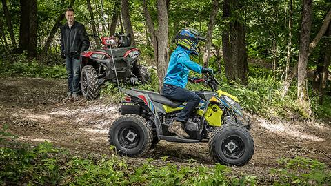 2018 Polaris Outlaw 110 in Bennington, Vermont