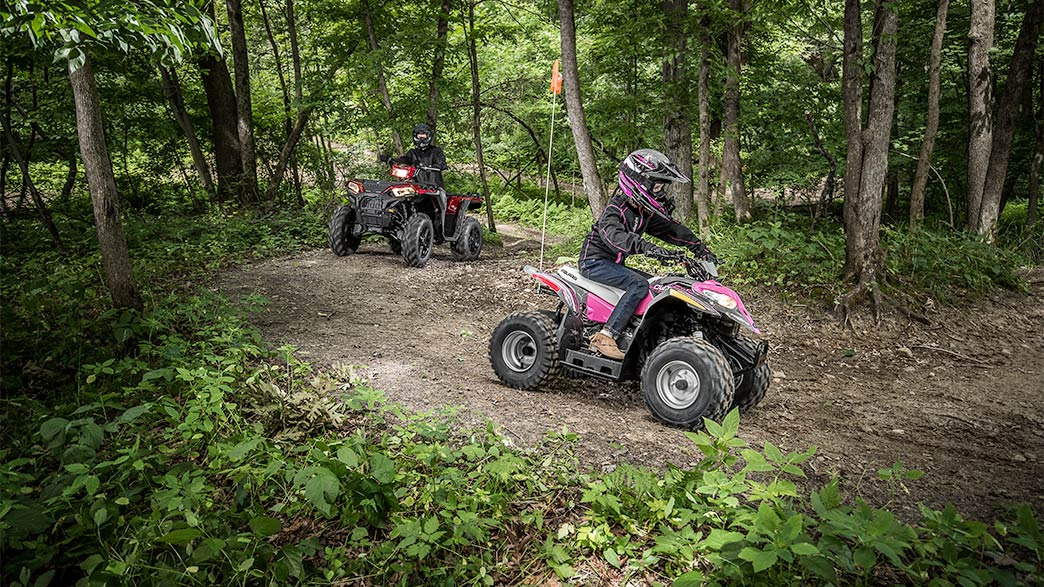 2018 Polaris Outlaw 50 in Newberry, South Carolina