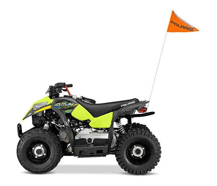 2018 Polaris Outlaw 50 in Tyrone, Pennsylvania