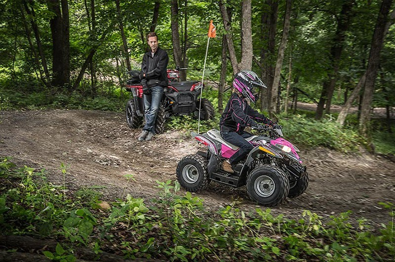 2018 Polaris Outlaw 50 in Caroline, Wisconsin