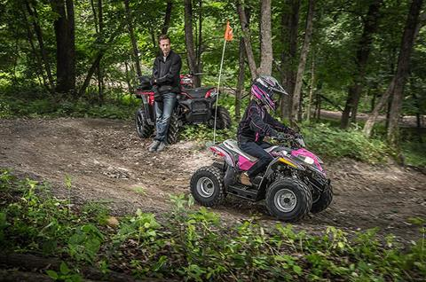 2018 Polaris Outlaw 50 in Barre, Massachusetts