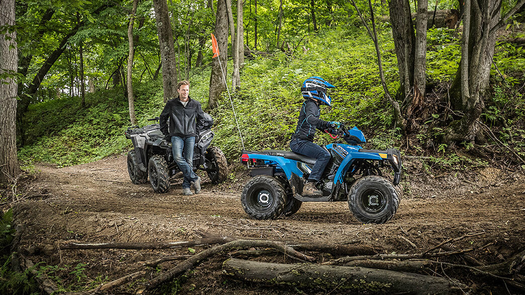 2018 Polaris Sportsman 110 EFI in Woodstock, Illinois