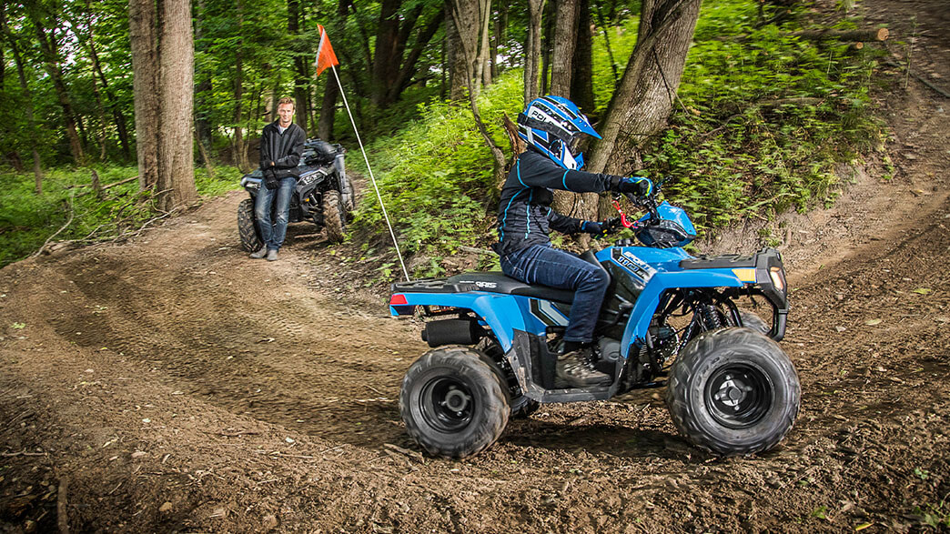 2018 Polaris Sportsman 110 EFI in Newport, Maine